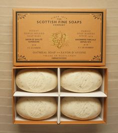 Scottish Fine Soaps Oatmeal Soap 4 X - for sale online Oatmeal Bath, Oatmeal Soap, Soap Maker, Soap Company, I Cool, Amazing Bathrooms, Bar Soap, Soaps, Bath And Body
