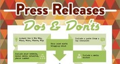 Press Releases Dos & Don'ts [Infographic]