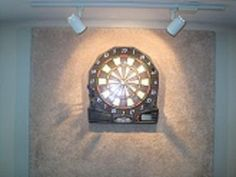 Dartboard Wall Protector Diy Own dart board backing