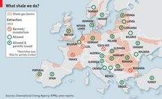 How long before fracking spreads to Europe? A decade, at least.