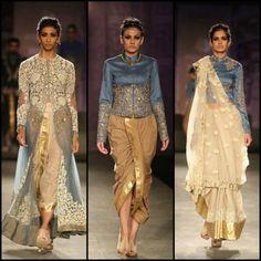 Dhoti is beautiful - Anju Modi Collection at India Couture Week 2014 | PINKVILLA