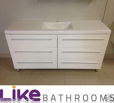1200mm Bathroom Vanity Unit With Big Drawers(so1200/se1200t)