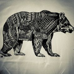 Bear tattoo - i want this, but with more movement in it