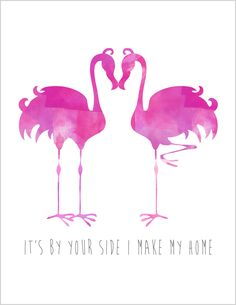 It's By Your Side I Make My Home #freeprintable #brepurposed