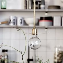 Brass Disc Pendant Light (Mad About The House) House Doctor, Mad About The House, Brass Pendant Light, Light Garland, Blog Deco, Contemporary Home Decor, Beautiful Lights, Organizer, Hanging Lights