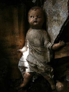 Abandoned doll, probably plotting to steal your soul.