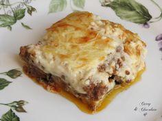 Musaka o moussaka griega, a mi estilo – Greek moussaka Curry, Lasagna, Pasta, Cooking, Ethnic Recipes, Food, Greek, Entrees, Ethnic Food
