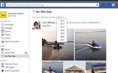 Facebook vous propose un retour en arrière sur ce que vous avez publié il y a un, deux, trois...ans sur le réseau social.