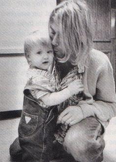 Kurt and baby Frances