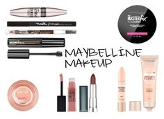 """""""MAYBELLINE MAKEUP"""" by queenstone on Polyvore featuring beauté, Maybelline, simple, makeup, nude et maquillage"""