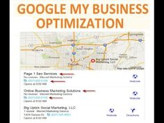 Google My Business | Dayton Ohio | Get Your Business On Google Maps http://youtu.be/SFh-z7NP5-Y