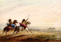 Ragazze Indiane Jacob Miller, Historical Art, Native Art, New Kids, Indian Girls, Camel, Design Inspiration, Racing, Bizon