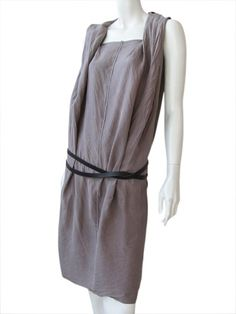 Nicolas & Mark's Sleeveless Designer dress in pure silk.. Price $143.00