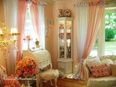 Shabby chic romantic home by foxasd