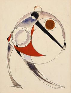 Alexander Rodchenko, Figure in a Circle, 1920-1922