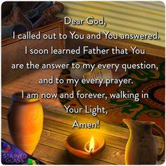 I call to you