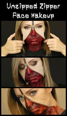 Scary Halloween Makeup Tutorials | Favors, Monsters and Holidays