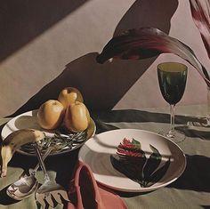 "ce-sac-contient: ""Horst P. Horst - Still life, Oyster Bay, Long Island, 1950 Dye transfer print, printed later × cm) "" Long Island, Food Photography Styling, Art Photography, Product Photography, Coffee Photography, Yvonne Printemps, Horst P Horst, Richard Avedon, Still Life Photography"