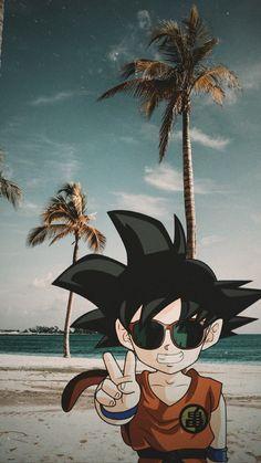 Dragon Ball Gt, Dragon Ball Z Shirt, Wallpaper Do Goku, Dragon Ball Z Iphone Wallpaper, Dragonball Anime, Foto Do Goku, Digital Foto, Kid Goku, Naruto