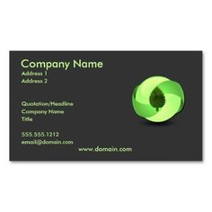 1122 Best Eco Green Business Card Templates Images Green Business