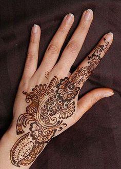 Arabic Mehandi Designs For Hand