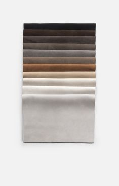 Leather textures are being used in a wide range of design projects, the color and the resolution of the natural leather textures are captivating. Color Swatches, Fabric Swatches, Leather Texture, Leather Skin, Leather Fabric, Leather Material, Material Board, Colour Schemes, Color Palettes