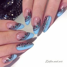 New nail art trends bring you unlimited nail design inspiration - Page 47 of 117 - Inspiration Diary Acrylic Nails Coffin Glitter, Coffin Nails, Nail Art Instagram, Nagellack Design, Nagel Blog, New Nail Art, Nail Swag, Nagel Gel, Purple Nails