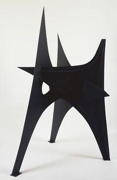 "cinoh: "" Trois Pics, Alexander Calder """