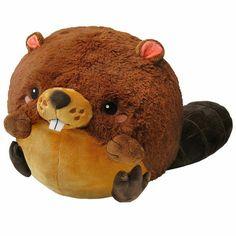 Squishable: they're giant round fuzzy stuffed animals. Hug them. New Squishies, Wooden Airplane, Birthday Wishes For Myself, Big Animals, Woodland Creatures, Diy Stuffed Animals, Plush, Teddy Bear, Kawaii
