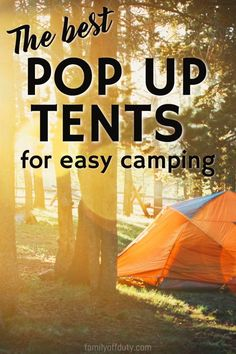 The best pop up tents for easy camping. Pop up tents pop up tents camping pop up tents for kids Pop up tents & trailers camping hacks camping camping ideas Camping and Hiking Gear Camping Guides and IdeasCamping with Kids Travel Camping Guide, Camping Essentials, Camping And Hiking, Camping With Kids, Family Camping, Travel With Kids, Camping Hacks, Camping Ideas, Hiking Gear