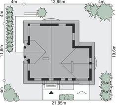 Sytuacja Dom przy Pomarańczowej 2 CE Floor Plans, Mirror, Furniture, Home Decor, Decoration Home, Room Decor, Mirrors, Home Furnishings, Home Interior Design