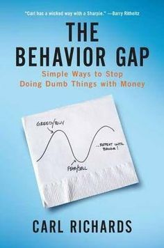 """Another must-listen from my """"The Behavior Gap: Simple Ways to Stop Doing Dumb Things with Money"""" by Carl Richards, narrated by Carl Richards. Books You Should Read, Books To Read, Ernst Hemingway, Meaningful Conversations, Financial Planner, Financial Markets, Financial Literacy, Financial Peace, Wicked Ways"""