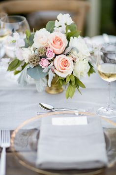 Wedding Table Settings that Make for a Beautiful Reception - Style Me Pretty