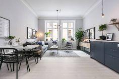 Decoración en azul | Estilo Escandinavo