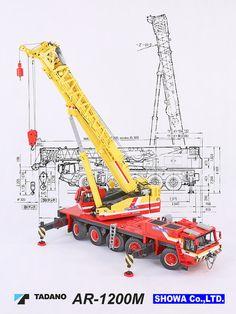 LEGO Tadano AR-1200M Mobile Crane 05