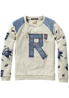 Deze prachtige Scotch R'belle sweater is nieuw binnen! www.eb-vloed.nl