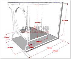 √ Box Speaker RCF Subwoofer 12 inch | ARA AUDIO 12 Inch Subwoofer Box, Diy Subwoofer, Subwoofer Box Design, Speaker Box Design, Woofer Speaker, Speaker Plans, Loudspeaker, Exercises, Monitor