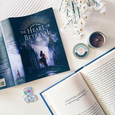 What are you all reading at the moment? I'm #currentlyreading The Heart of Betrayal by Mary E. Pearson, the second book in the Remnant Chronicles. I'm loving it! I'd forgotten how great the world is ☺️ Bookmark by @happyhelloart; candle by @frostbeardmpls