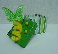 Cajitas decoradas con Goma Eva