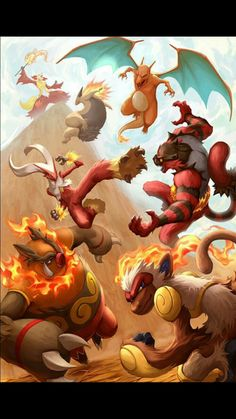 All current Fire starters final evolutions. All current Fire starte… All current end developments for fire starters. All current end developments for fire starters. Pokemon Mew, Pokemon Legal, Mega Pokemon, Pokemon Funny, Pokemon Fan Art, Pokemon Fusion, Charmander, Pokemon Charizard, Pokemon Starters