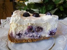The Best Blueberry Cheesecake