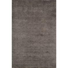 Loft Studio Charcoal Hand-Loomed Wool Rug (3'6 x 5'6)