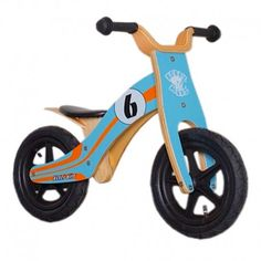 "Draisienne 12"" Rebel Kidz Wood Air bois"