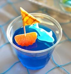 cute kid drink idea-love this for a pool party!