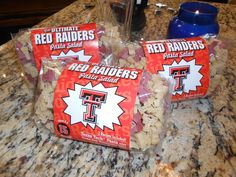 Texas Tech Red Raider Pasta