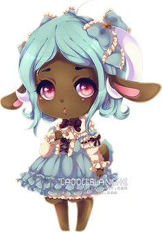 Simple Chibi Commission for popuki Thank you!    Commissions are OPEN   ♦  ♦  ♦