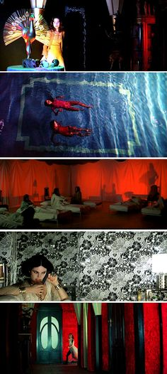 "some of the amazing visuals from ""Suspiria"" by Dario Argento, possibly my favorite horror film ever"