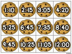 Freebie centers: telling time to 5 minutes, and adding coins