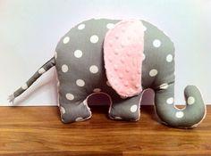 Elephant Pillow_Zoo Nursery on Etsy, $33.00