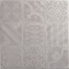 Fa ence mur blanc et bleu decor haussmann carreau ciment for Carrelage pate de verre leroy merlin